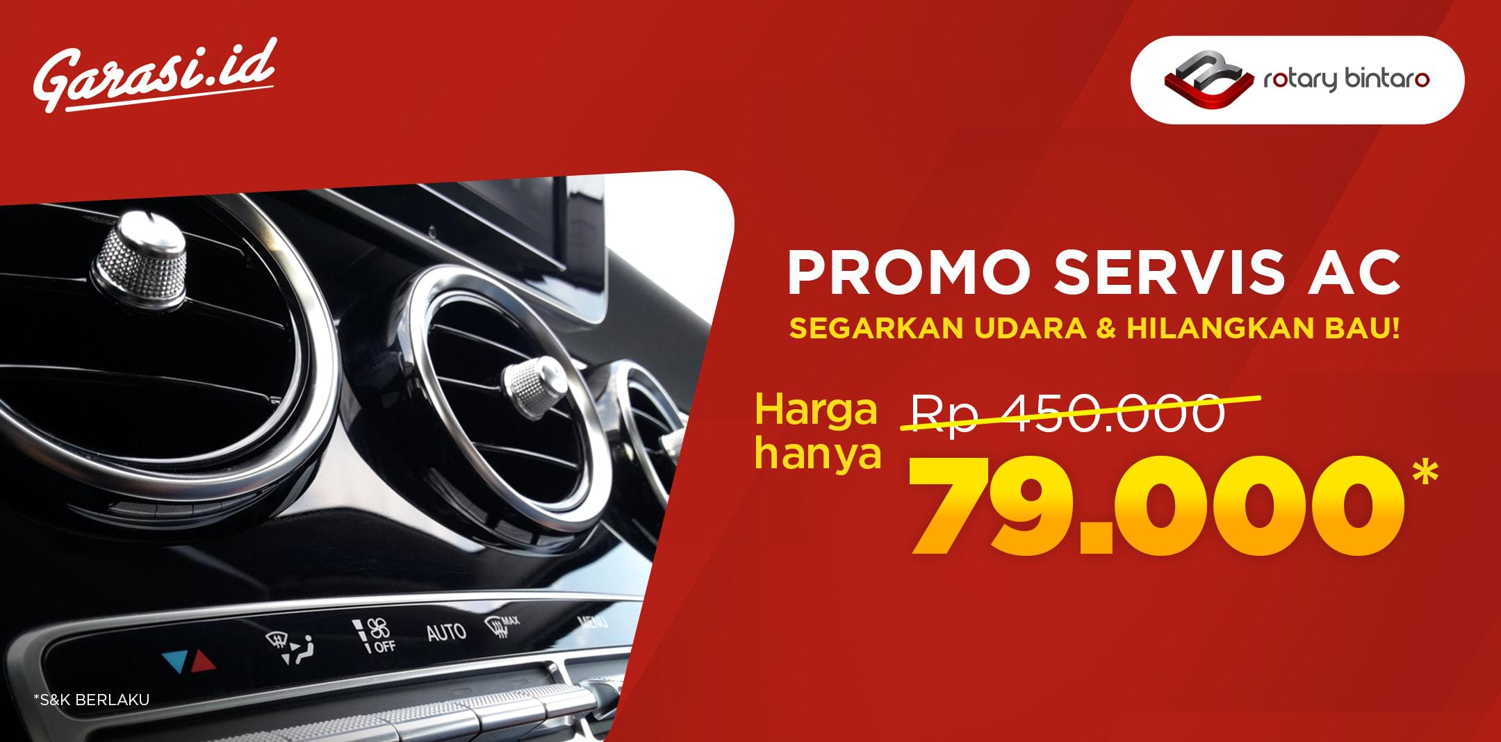 Promo Paket AC di Rotary Bintaro