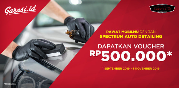Nikmati Promo Spesial Annivesary Spectrum Autodetailing senilai Rp 500.000