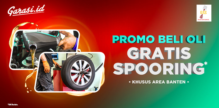 Dapatkan GRATIS Spooring untuk pembelian Oli di Galuh Auto Service GAS!