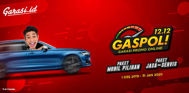 GASPOL (Garasi Promo Online ) 12.12!