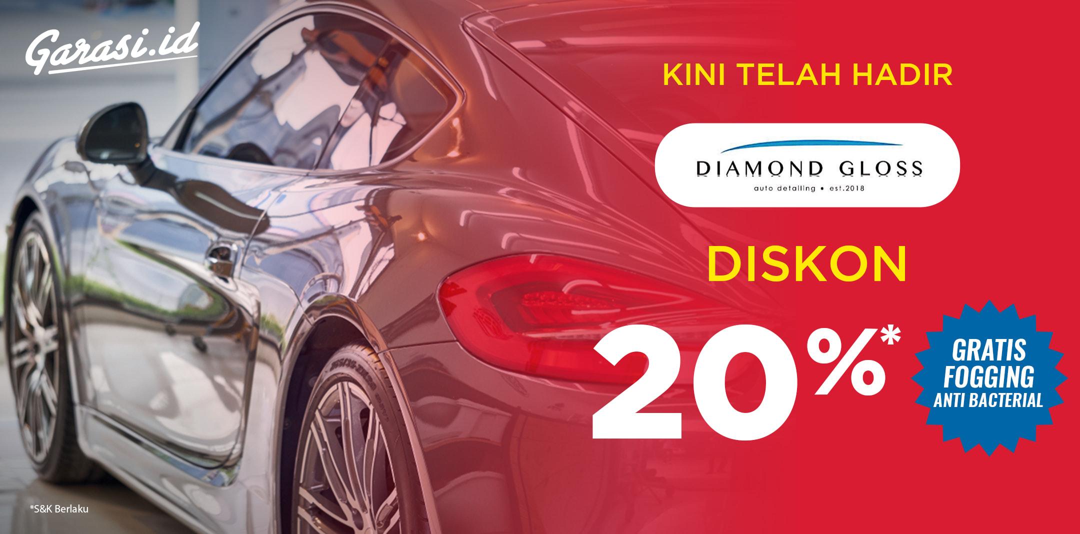 Diskon 20% + Free Car Fogging Anti Bacterial all produk