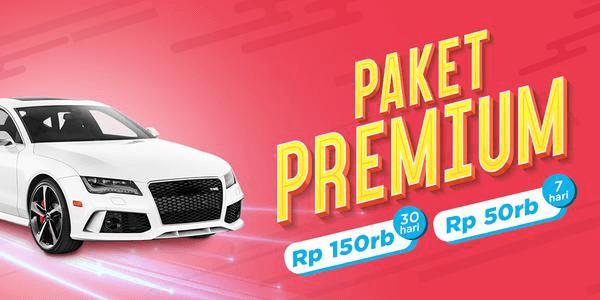 Iklan Premium Garasi.id untuk tampilan lebih menarik dan atraktif.