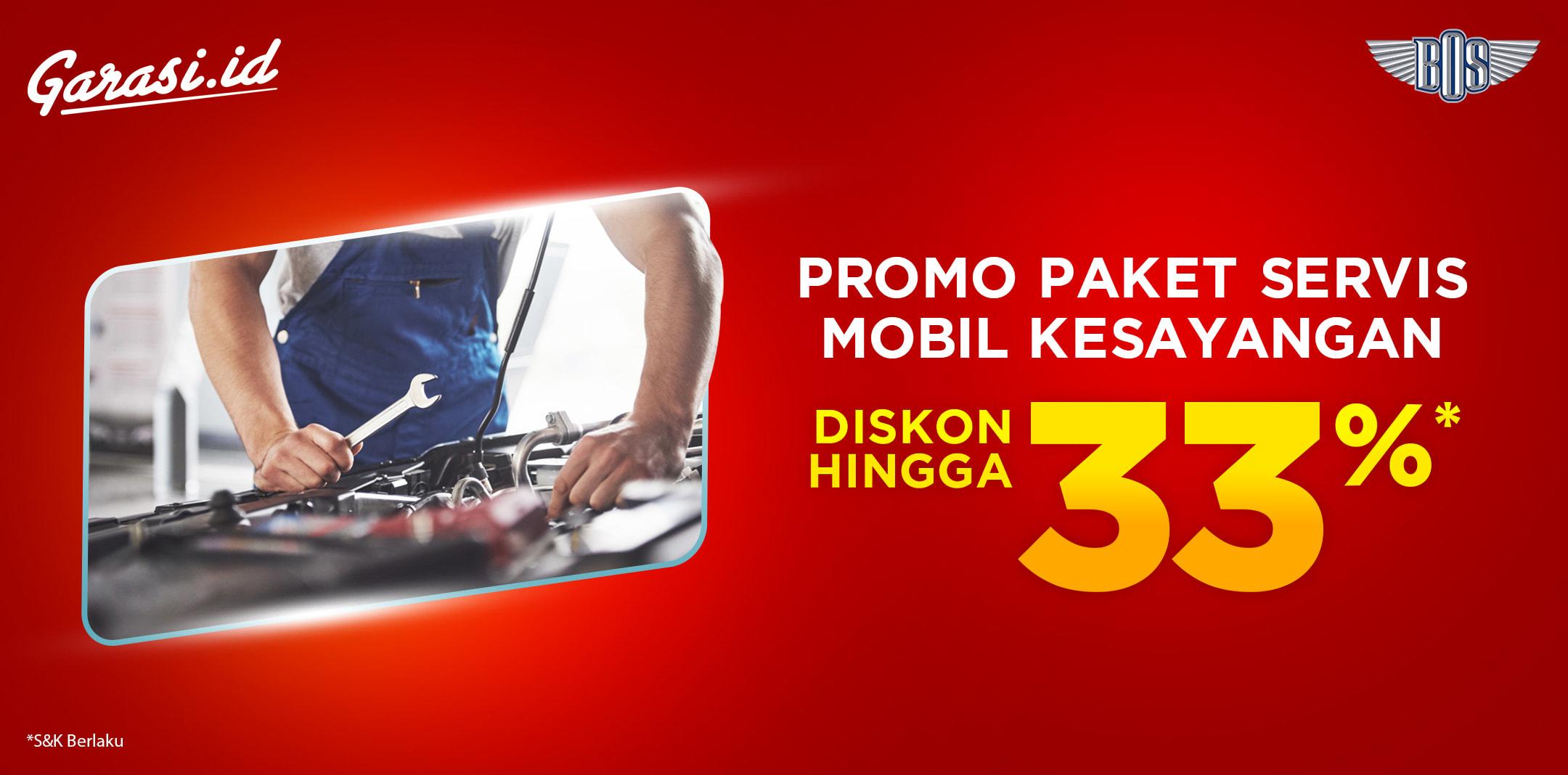 Promo Bengkel Bos