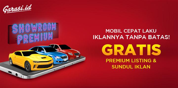 Langganan paket Showroom Premium Garasi.id, Gratis kuota Premium Listing dan Sundul Iklan.