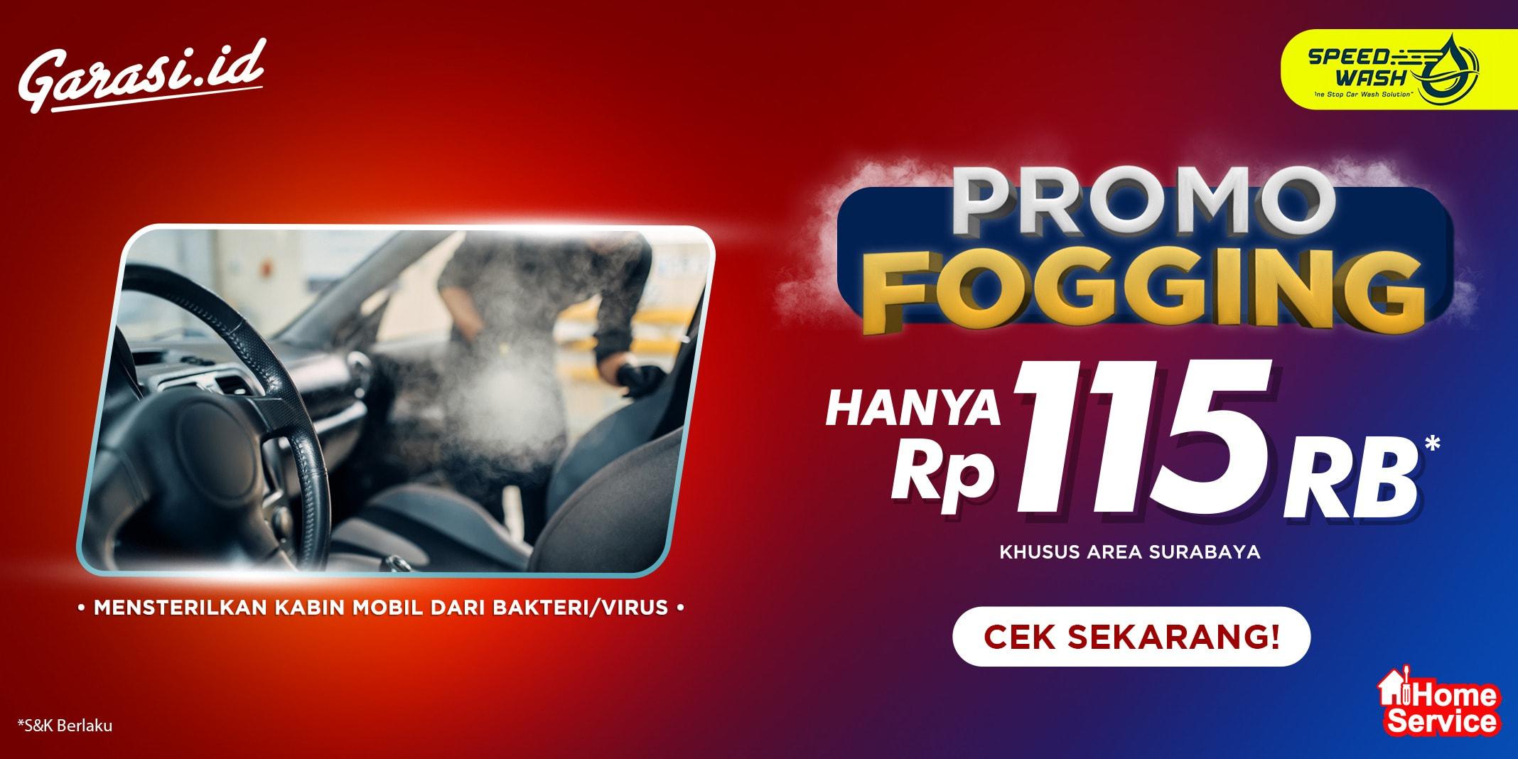 Promo Fogging Speedwash