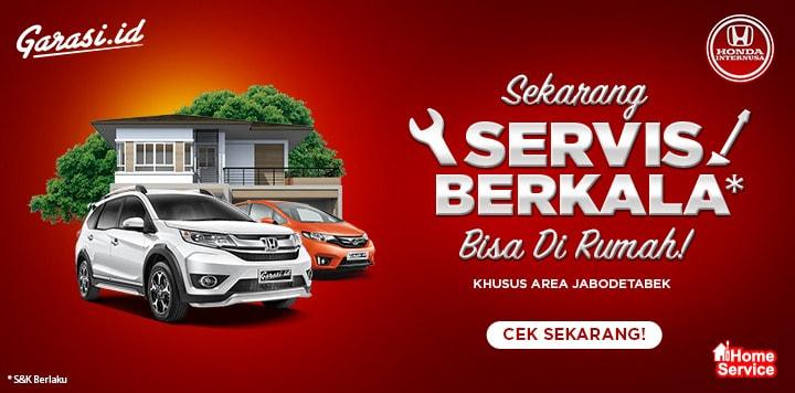 Honda Internusa Home Service Servis Berkala