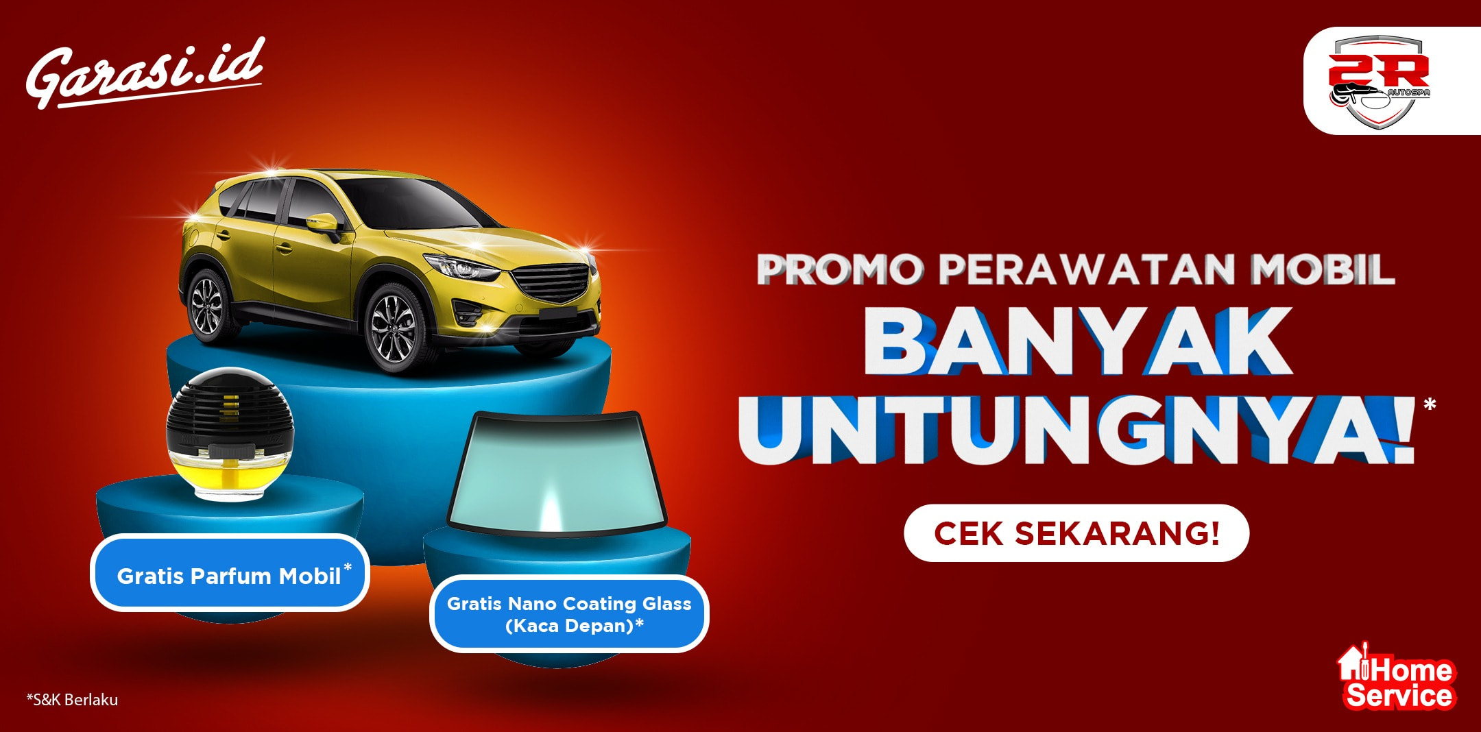 Promo 2R Autospa Buy One Get One Gift