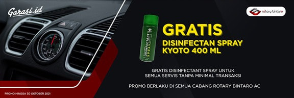 Promo Rotary Gratis Desinfektan