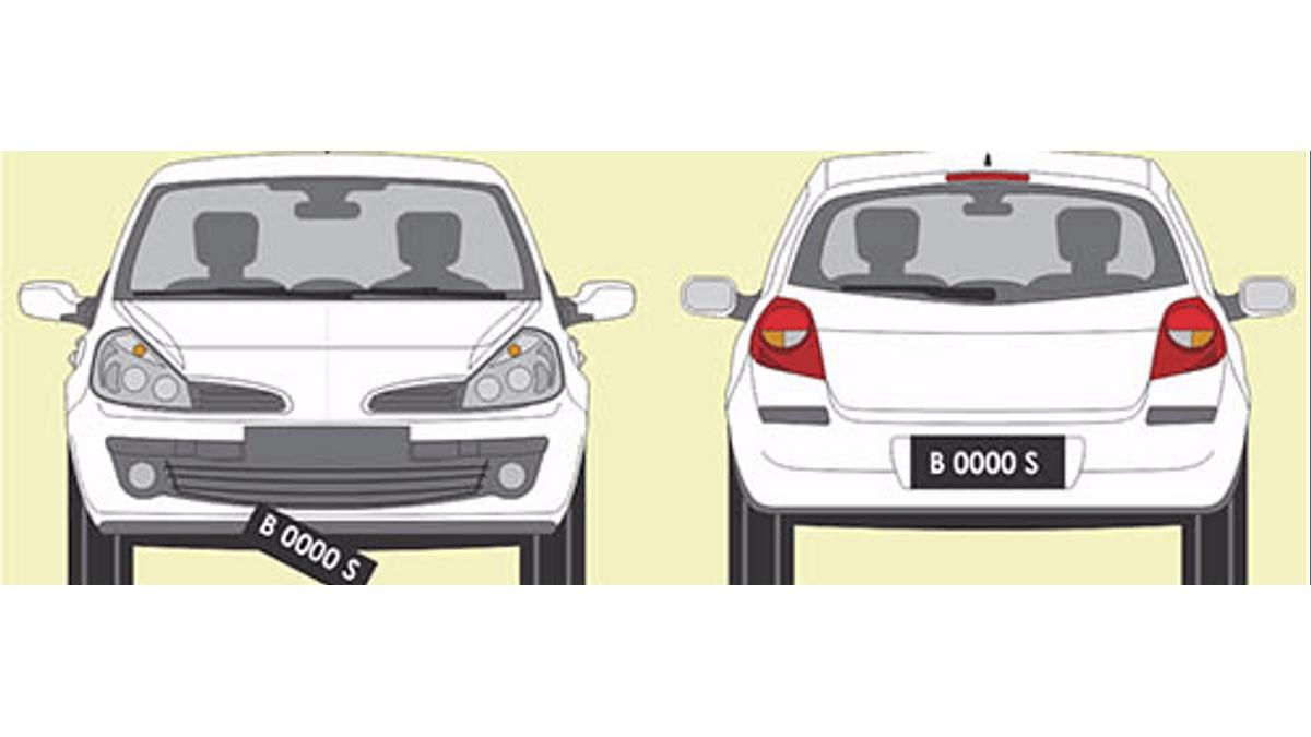 Demi Mensukseskan Tilang Digital, Plat Kendaraan Mau Diganti Warna Cerah