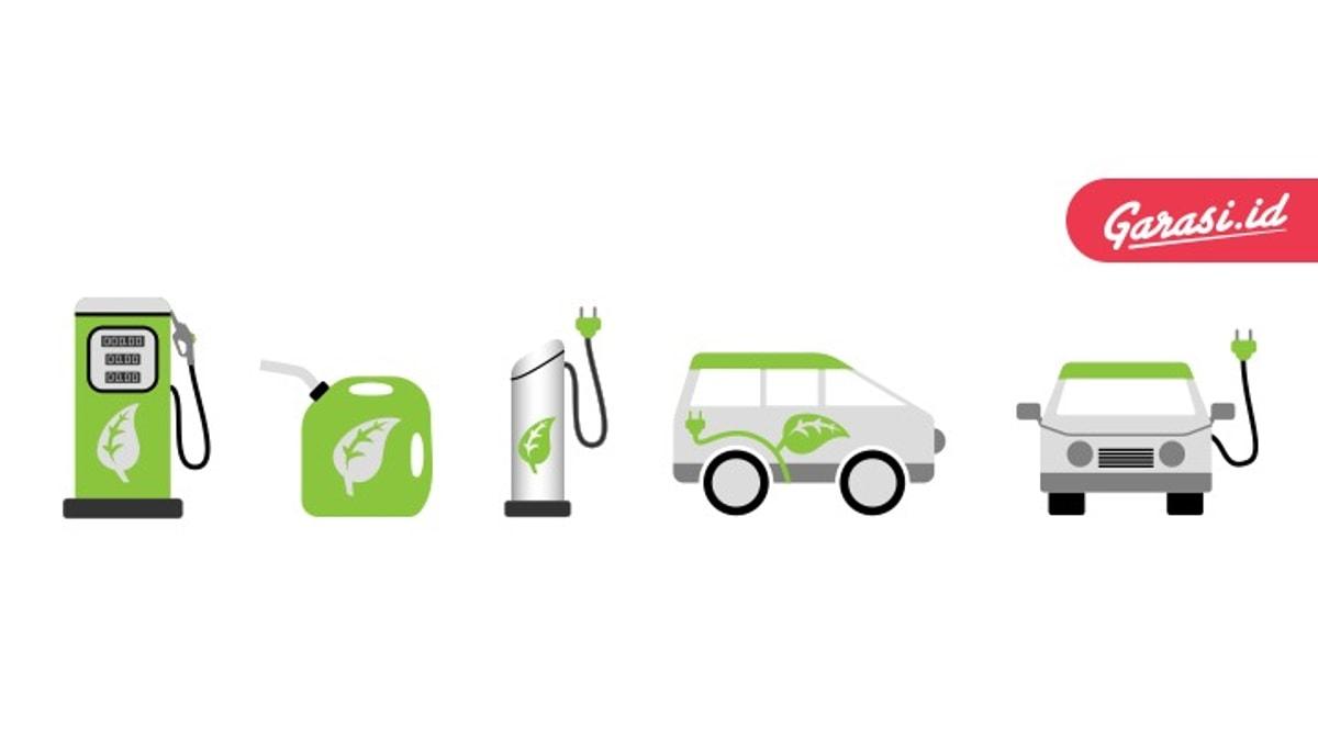 Mobil listrik memiliki emisi yang rendah
