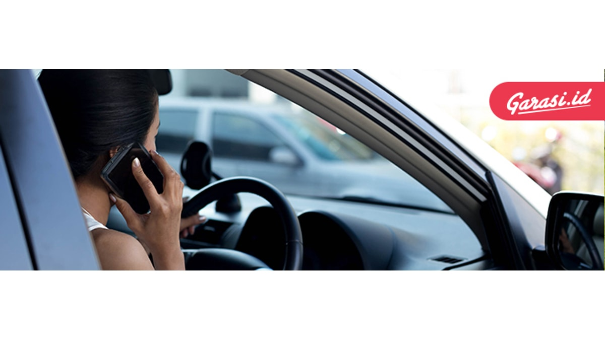 Larangan GPS saat berkendara