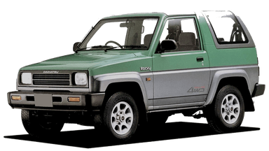 Daihatsu Taft - Mobil Offroad Badak
