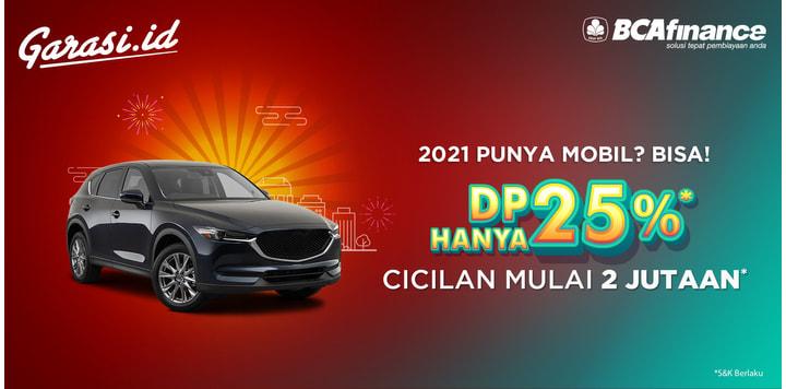2021 Punya Mobil DP 25%
