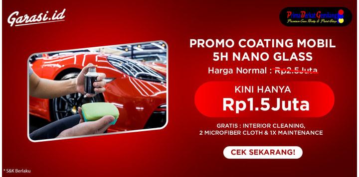 PROMO 5H Nano Glass Coating Discount 40%