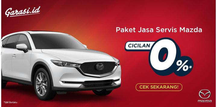 Promo Cicilan 0% Mazda
