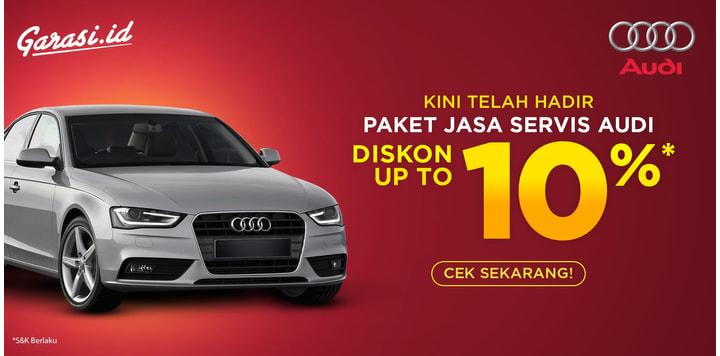 Promo 10% Audi