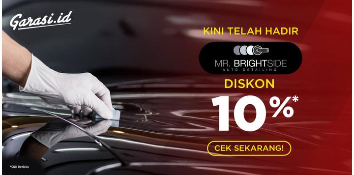 Promo 10% Mr Brightside