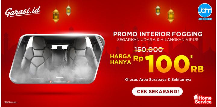 PROMO JDM Interior Fogging + Steam Sanitizer (Surabaya & Sekitarnya)