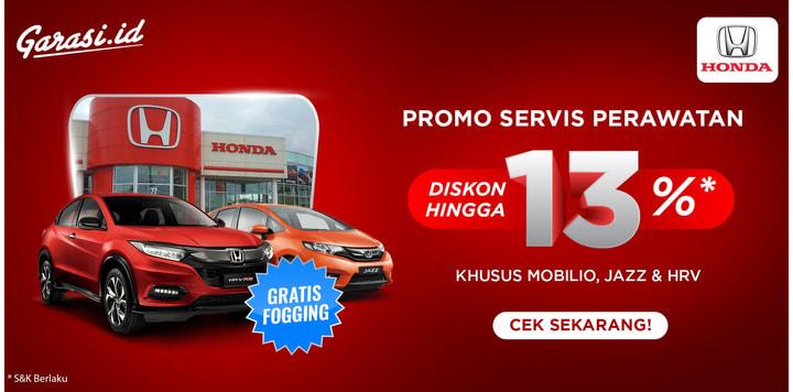 PROMO Servis Mobil Honda