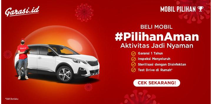Mobil Bekas Berkelas, #PilihanAman Dari Garasi.id