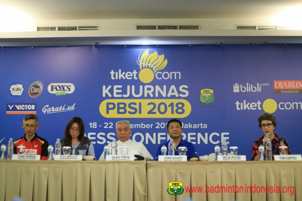 Yuk Besok Seru-Seruan Bareng Garasi.id di Tiket.com Kejurnas PBSI 2018