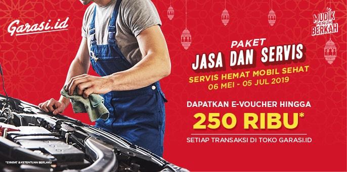 Rawat Mobilmu Sebelum Pergi Mudik Dengan Paket Jasa dan Servis Dari Garasi.id