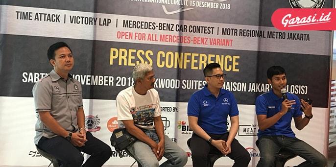 "Pacu Adrenalin Berkendara Di Sirkuit Sentul Dalam Acara ""Mercedes Benz Trackday 2018"""