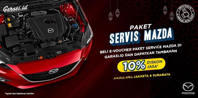 Servis Mazda Bisa Dapat Diskon, Begini Caranya