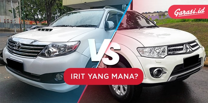 Toyota Fortuner Vs Mitsubishi Pajero, Irit Mana?