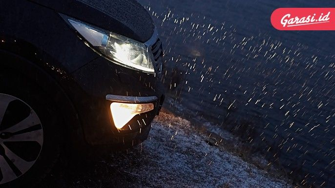 Lampu LED Tak Tembus Hujan, Lebih Baik Ganti Lampu Kuning