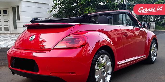 Berniat Membeli Mobil Beratap Terbuka? Beetle Cabriolet Pilihan Tepat