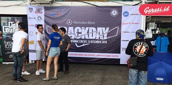 Puluhan Mercedes-Benz 'Jajal' Sirkuit Sentul Dalam Acara Trackday 2018
