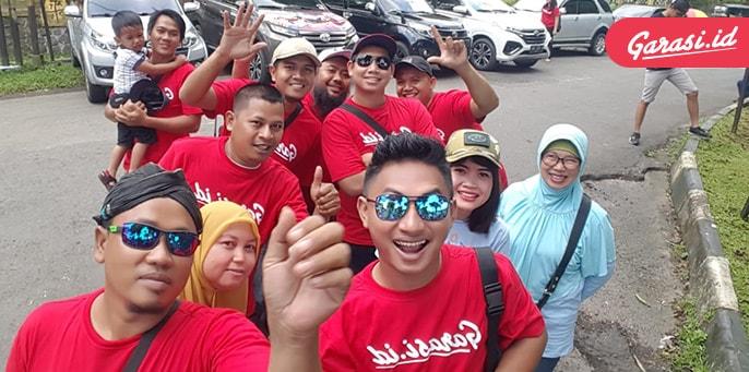 Rayakan Hari Jadi Ke - 8, Krushter Adakan Bakti Sosial di Purwokerto