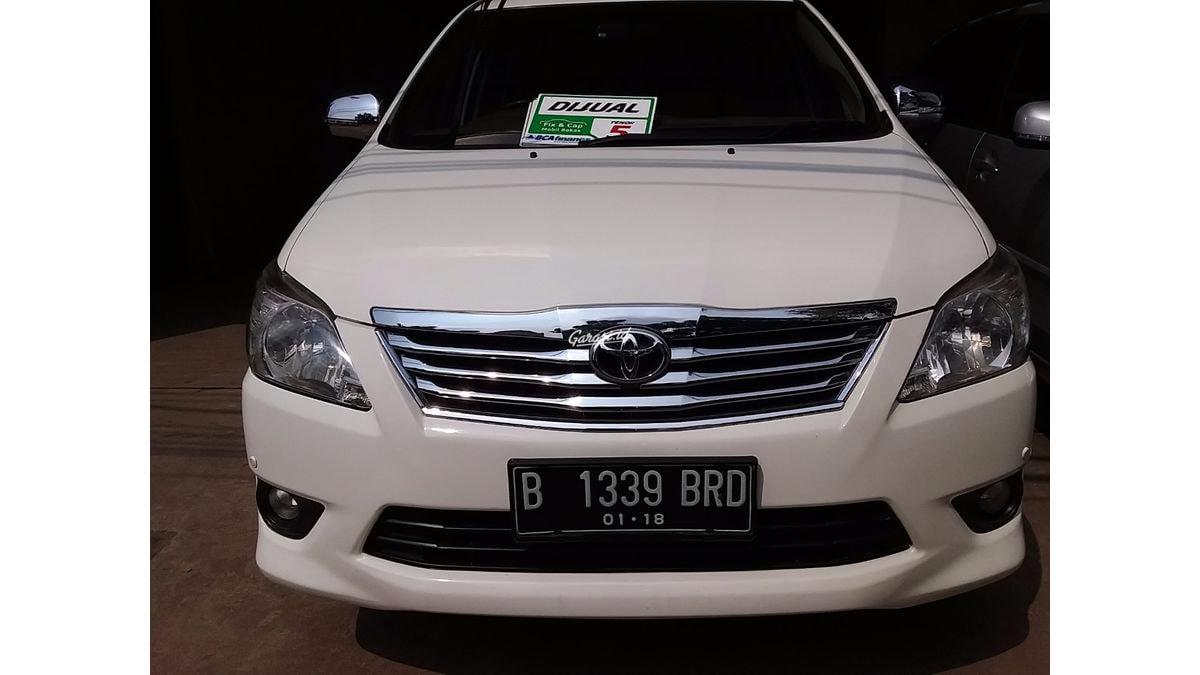 Jual Mobil Bekas 2013 Toyota Kijang Innova 2 0 V Kota Tangerang 000l400 Garasi Id