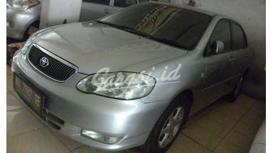 2001 Toyota Corolla Altis mt - Terawat Siap Pakai