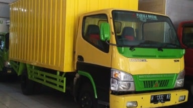 2011 Mitsubishi Colt Diesel Double ban - Box Container