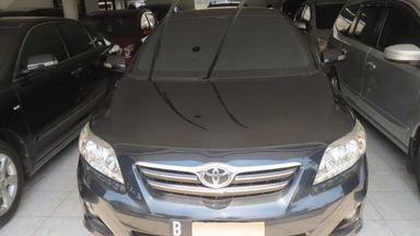 2009 Toyota Corolla G - Istimewa Siap Pakai
