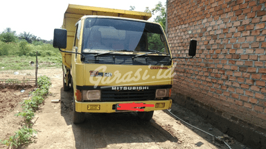 2003 Mitsubishi Fusso Dump Truck Ps - Kondisi Mulus Tinggal Pakai