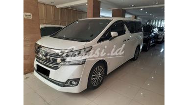 2016 Toyota Vellfire G - Mobil Pilihan