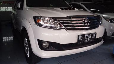 2013 Toyota Fortuner G - UNIT TERAWAT, SIAP PAKAI, NO PR