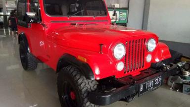 1981 Jeep CJ - Tangguh Super Istimewa