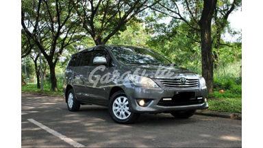 2012 Toyota Kijang Innova G - Siap Pakai