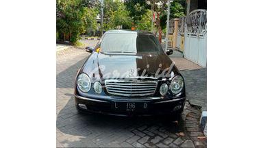 2004 Mercedes Benz E-Class E260 - Barang Antik Simpanan Kolektor jarang di pakai