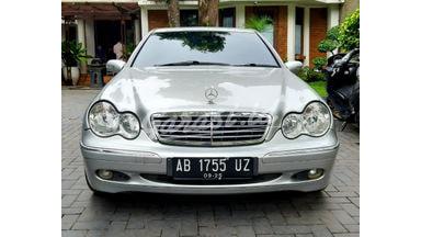 2002 Mercedes Benz C-Class C240