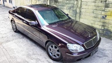 2002 Mercedes Benz S-Class 320 CBU BuiltUp German - Siap Pakai