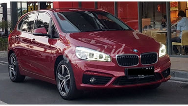 2015 BMW 2 Series 218i - Red on black