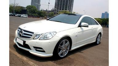 2012 Mercedes Benz E-Class E250 Coupe - Good Condition