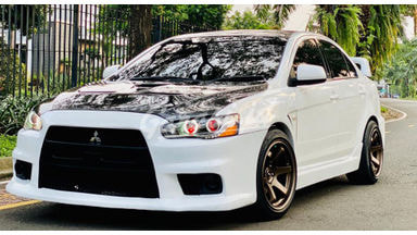 2008 Mitsubishi Lancer Upgrade x Evolution
