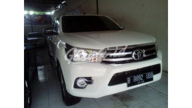 2018 Toyota Hilux G - Mulus Siap Pakai