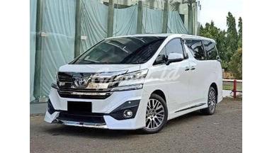 2017 Toyota Vellfire G Limited - Mobil Pilihan